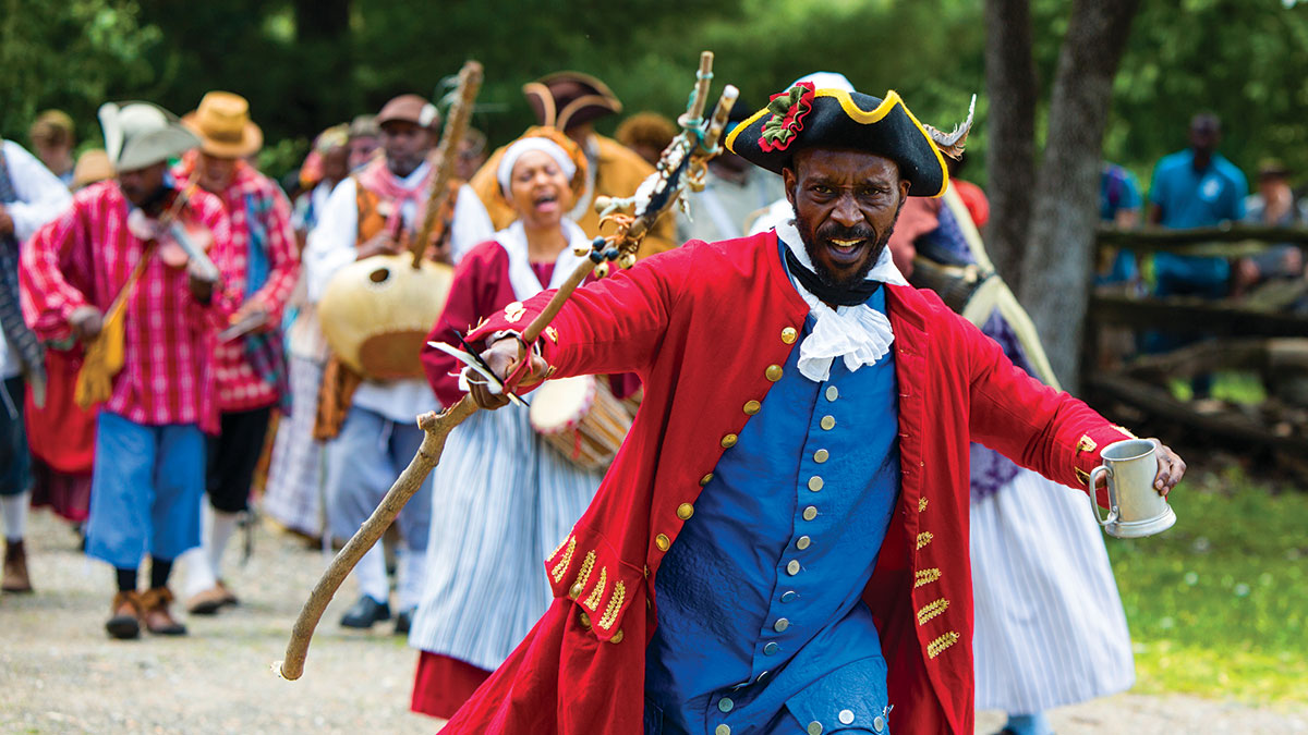 The Pinkster Parade at Philipsburg Manor