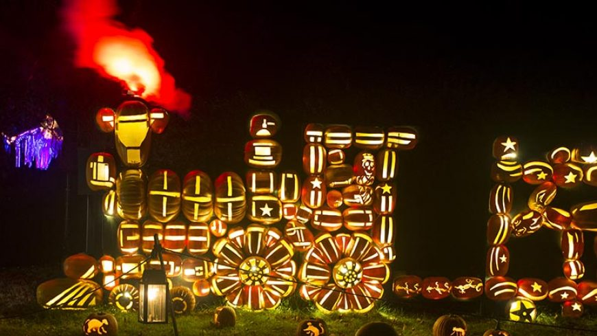 Circus Train at the Great Jack O'Lantern Blaze