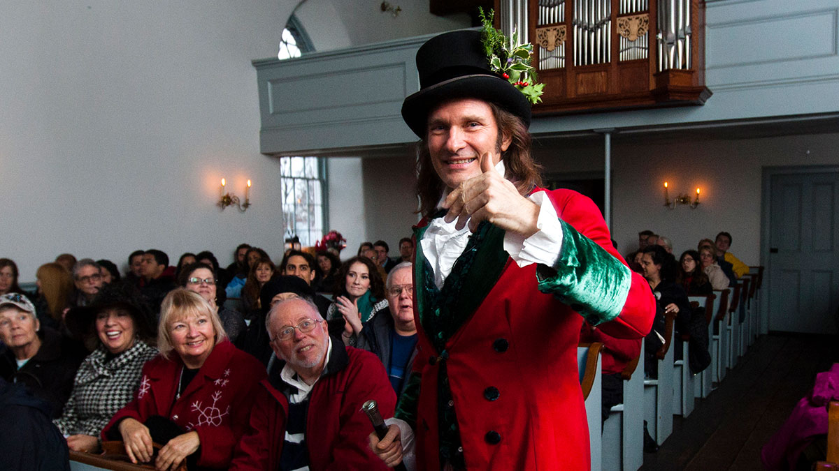 Dickens's Christmas Carol at Old Dutch Church