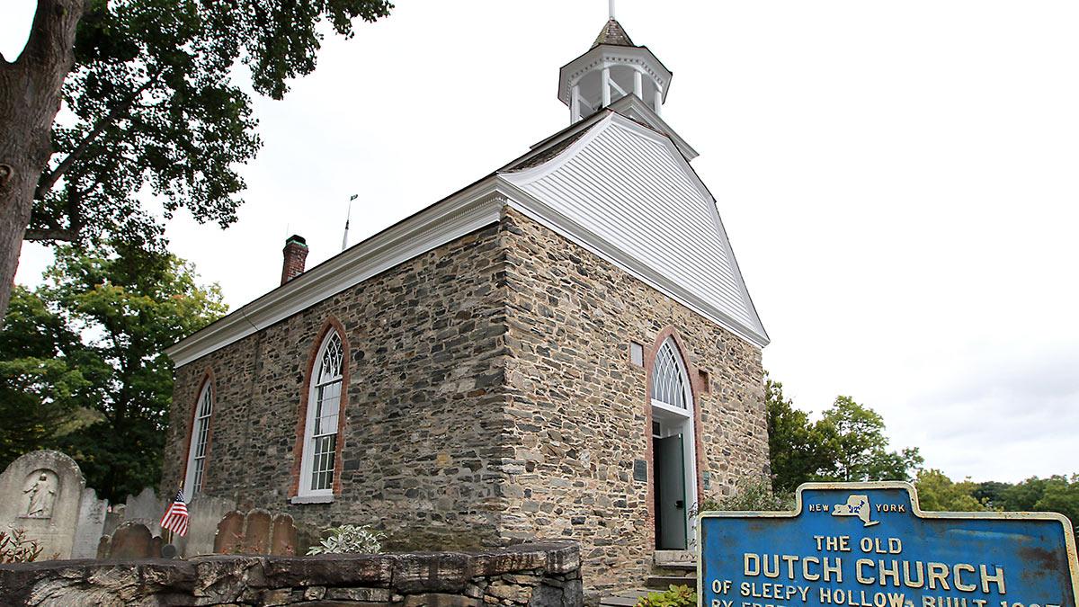 The Old Dutch Church in Sleepy Hollow
