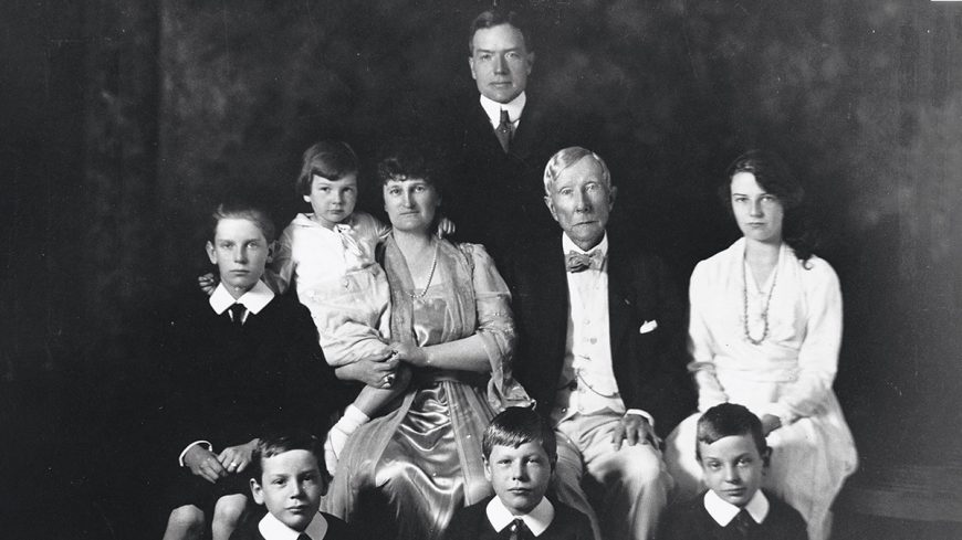 John D Rockefeller and His Family