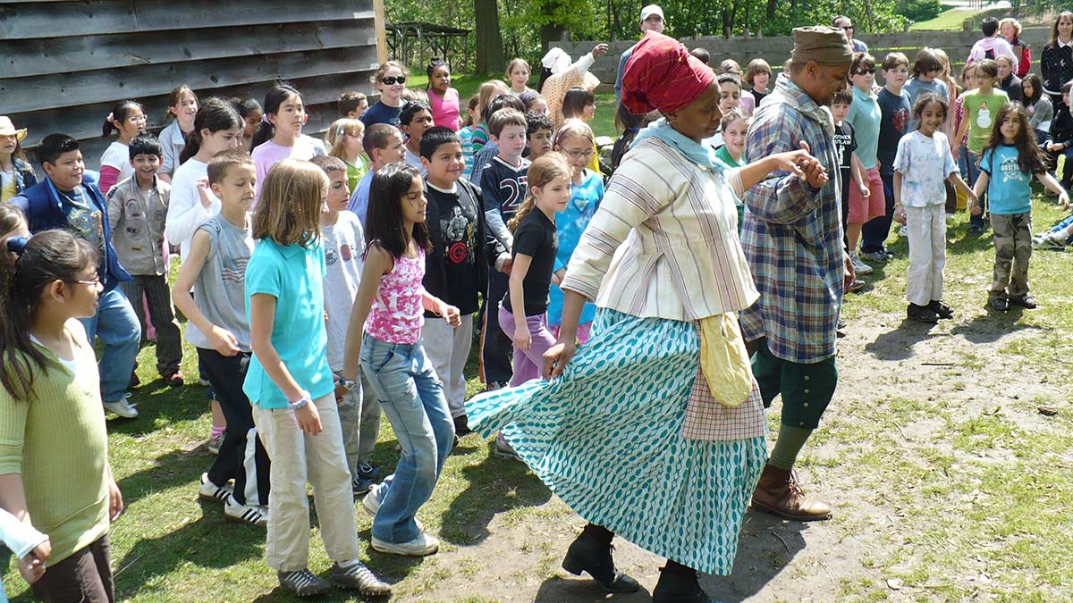 Pinkster School Program at Philipsburg Manor