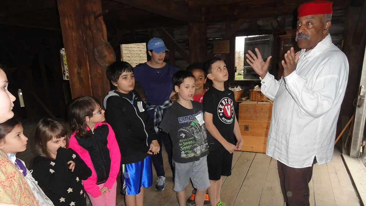 Millers And Merchants School Program at Philipsburg Manor