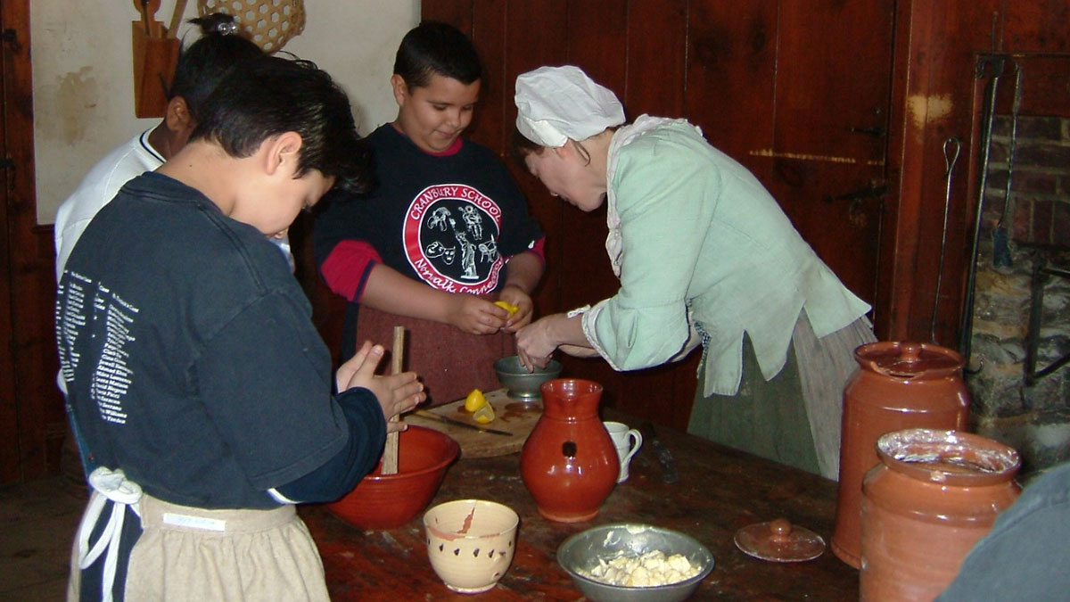 Work and Community School Program at Philipsburg Manor