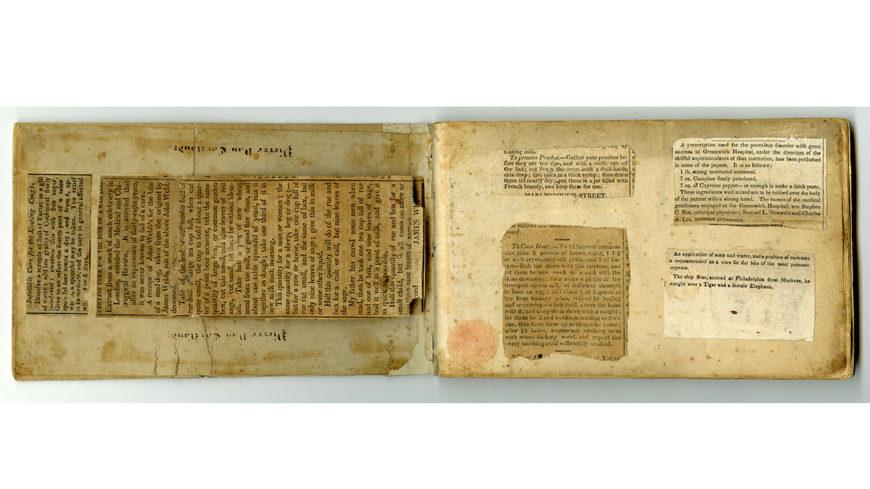 Recipe Book 1800