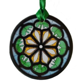 Henri Matisse Rose Window Ornament