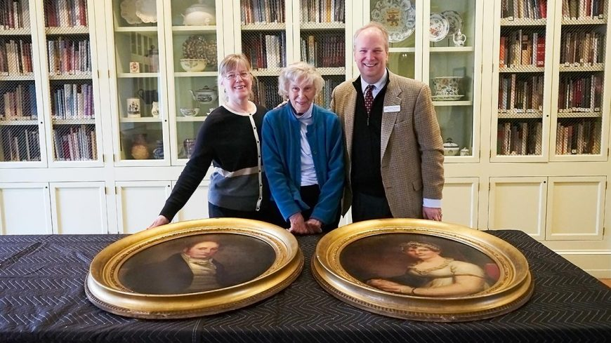 Washington Irving Family Portraits