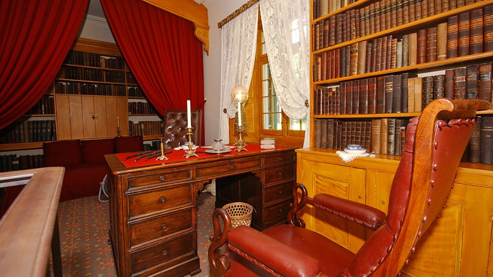 Washington Irving's Desk and Study