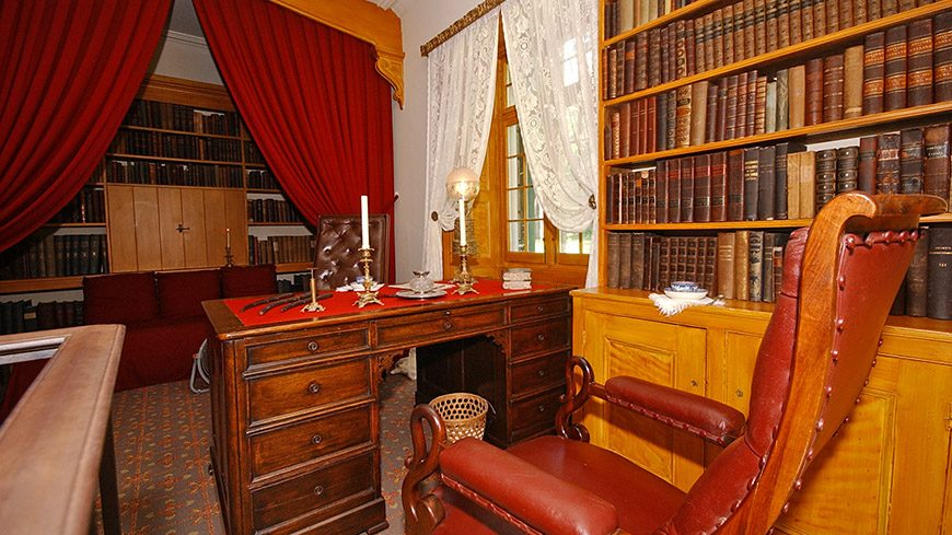 Washington Irving's Study at Sunnyside