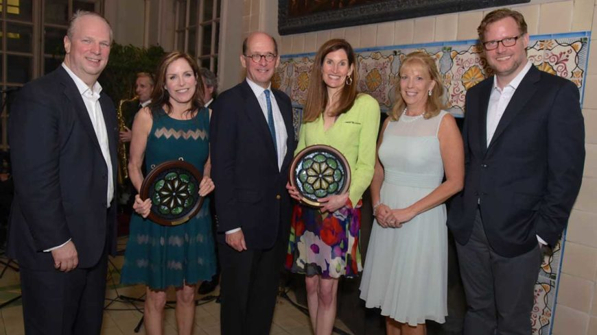 Valerie Rockefeller and Dawn Fitzpatrick Are Honored at Women's History Institute Dinner