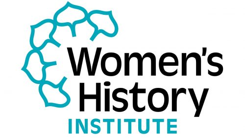 The logo of the Women's History Institute at Historic Hudson Valley.